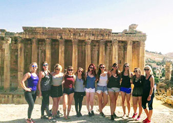 Small Group Tour from Beirut to Baalbek, Anjar and Ksara