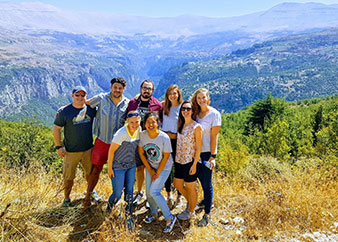 Small Group Tour from Beirut to Baalbek, Cedars and Kozhaya