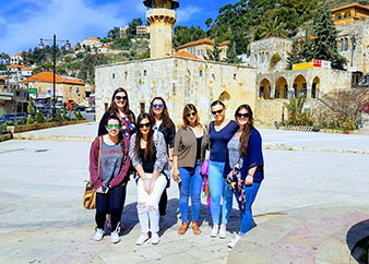 Small Group Tour from Beirut to Betddine and Deirelkamar