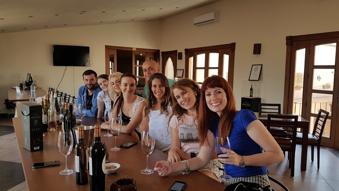 Wine Tours and Tasting at St Thomas Winery with Lebanon Tour